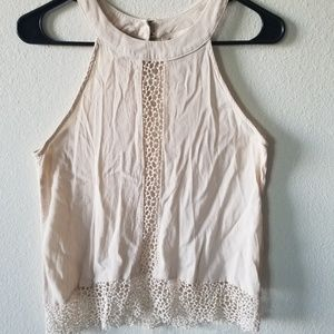 **PRICE REDUCED** Tank blouse off white